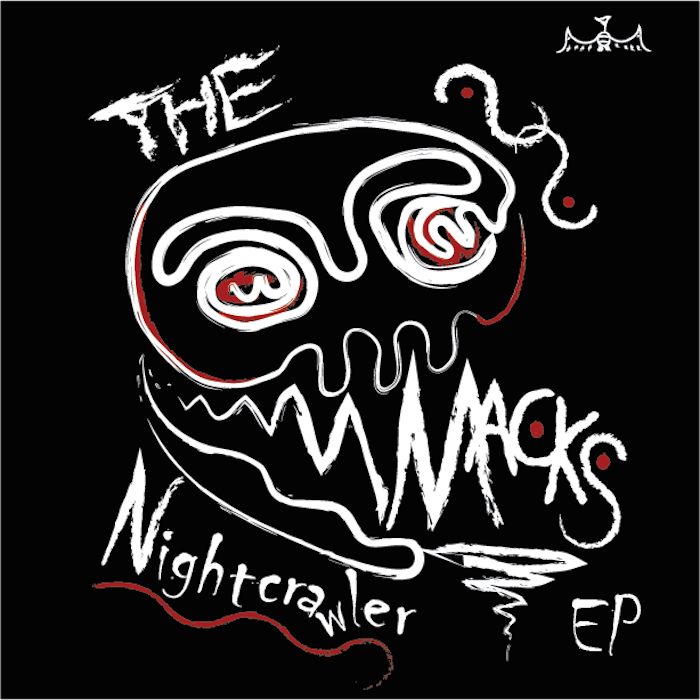 The Macks Nightcrawler EP cover art by Sam Fulwiler
